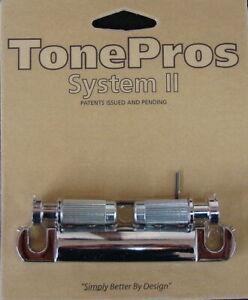 T1ZA-C TonePros, Metric Aluminum Tailpiece – Chrome