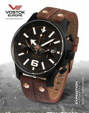 Vostok-Europe Expedition North Pole - 1 Watch 6S21/5953230 $439
