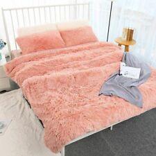 Soft Fur Faux Cozy Fluffy Throw Blanket Bed Sofa Bedspread Warm Bedding Sheet