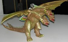 "KING GHIDORAH,MINT,1998 BANDAI,G14 TAG,17"" Long,Toho Kaiju,GODZILLA"