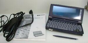 HP Jornada 680e Handheld Touch Screen PDA PC Windows CE w/ AC Adapter & Stylus