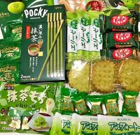 Japanese Candies Matcha Green Tea Sweets Set