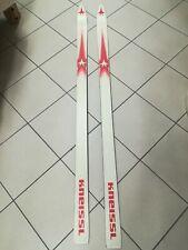 SCI KNEISSL nuovi VINTAGE senza attacchi ski microplane made Austria new 160 cm