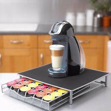 COFFEE MACHINE STAND & CAPSULE POD STORAGE HOLDER DRAWER NESPRESSO DOLCE GUSTO