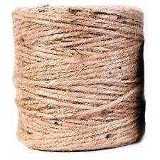 250m Natural Brown Sisal Jute String Rustic Twine Bunch Craft Making Skeins NEW!
