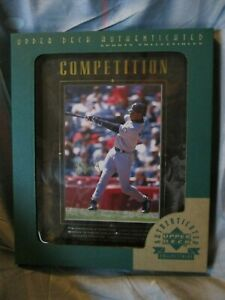 Ken Griffey, Jr. 1997 Upper Deck Authenticated Framed Motivational Blowup