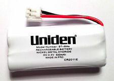 2 X ORIGINAL UNIDEN GENUINE Cordless Phone Battery's BT-694 DC 2.4V 500mAh NI-HM