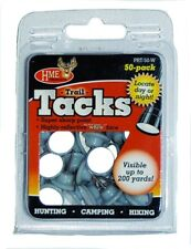 NEW! HME Products Plastic Reflective Tack (Pack of 50), White PRT-50-W