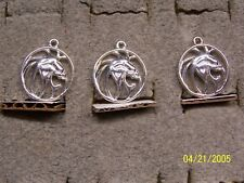 Vintage Unique Mgm Grand Casino Lion Pendant Charm Jewelry lion casino all 3