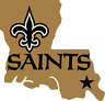 New Orleans Saints NFL Color Die-Cut Decal / Yeti Sticker *Free Shipping