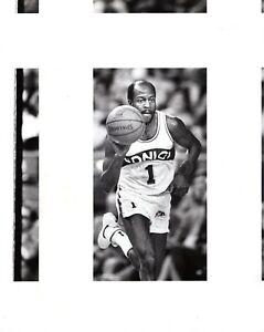 GUS WILLIAMS Seattle Super Sonics Basketball NBA 8x10 Promo News Photo 1984