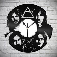 Pink Floyd, Wall Clock, Gift For Him Wall Decor Modern Art Hand Made Home Gift