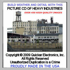 NEW PICTURE CD OF HEAVY INDUSTRIES REFERENCE GUIDE TO HO SCALE MODELING