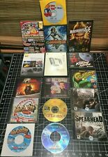 Bulk Lot of Pc Games and Software Cds Rct Lego Frogger Killing Moon Spy Kids etc
