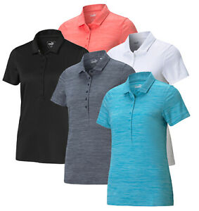 Puma Womens Daily Golf Polo Shirt 595826 - New 2021