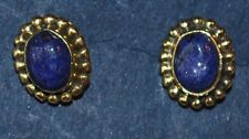 New Lapis Lazuli Stud Earrings - Fairly Traded Ethnic Hippy Boho Ethical Hippie