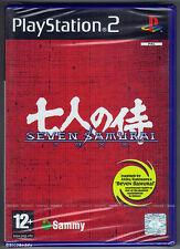 PS2 Seven Samurai 200XX (2004), UK Pal, Brand New & Sony Factory Sealed