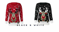 New CHILDERN'S STAR RUDOLPH REINDEER XMAS CHRISTMAS NOVELTY JUMPER