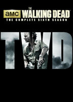 The Walking Dead: The Complete Sixth Season (Season 6) (5 Disc) DVD NEW