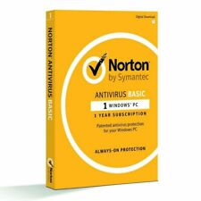 Norton Antivirus Basic 1.0 Internet Security (1 User, 1 Year)