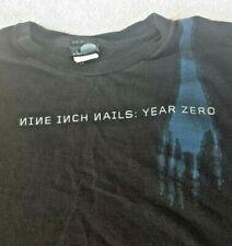 Giant ~ Nine Inch Nails ~ Black Graphic Short Sleeve T Shirt ~ Men's 2Xl