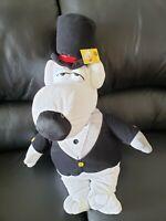"NEW Large 25"" Brian Griffin Family Guy Plush Tuxedo Dog Toy Doll Stuffed Figure"