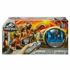 Jurassic World Remote Control RC Gyrosphere Vehicle With Figure