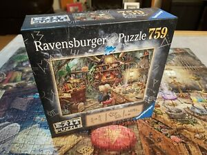 Halloween Ravensburger Exit Puzzle – Witch's Kitchen 759pc Mystery Jigsaw Puzzle