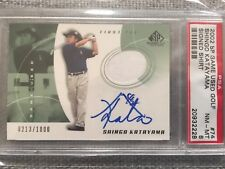2002 Upper Deck SP Game Used Shingo Katayama Autograph #74  PSA 8