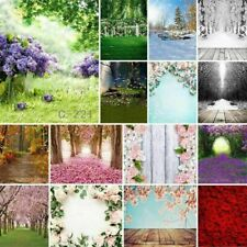 48 Types 5x7ft Green Jungle Snow Forest Tree Flower Photography Backdrops Props