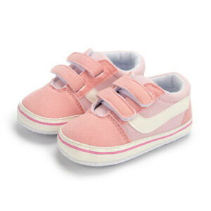 Newborn Gift Baby Boy Girl Crib Shoes Toddler PreWalker Trainers Infant Sneakers