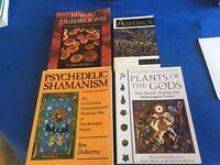 Ayahuasca -Shamanism - Lot of 4 - See Photos - Free Shipping