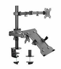 "AVLT Laptop and Monitor Mount Stand - Mount 15.6"" Notebooks and 32"" Screen"