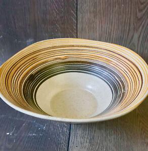Vtg Royal Haeger Art Pottery Mid Century Modern Design Serving Bowl #3177