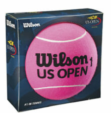 Wilson Us Open Jumbo Pink Felt 8 inch Tennis Ball New