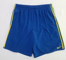 Nike Fit-Dry Running Basketball Shorts Men's Size Xl Blue Active Lined Yx