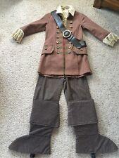 Disney Store Elizabeth Swan Pirates of the Caribbean Cloak Costume Child S 5 6