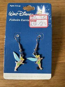 Walt Disney Tinkerbell Fishwire Earrings