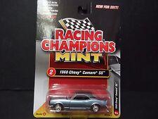 RACING CHAMPIONS CHEVROLET CAMARO SS 1968 bleu clair rc004a 1/64