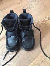 Polo Ralph Lauren Toddler Boy Ranger Hi II Black Boots Size 5 GUC