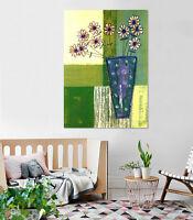 3D A Pot Of Flower 24 Wall Stickers Vinyl Murals Wall Print Decal  Art AJ STORE
