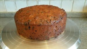 """8"""" Homemade Luxury Fruit Cake Brandy Infused ( 1.5 KG ) Made to Order"""