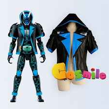 Masked Rider Kamen Rider SPECTER Ghost Blue Cosplay Costume Jacket Hoodie Sa