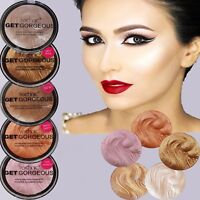 Technic Get Gorgeous Highlighting Powder Peach Candy 24ct Gold Pink Sparkle Face