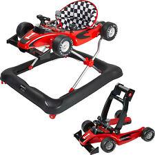 ib style® Little Racer 2in1 Gehfrei Lauflernhilfe Laufhilfe Babywalker ROT