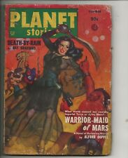 PLANET STORIES Summer 1950 Pulp magazine GGA cover + Bradbury Solid VG