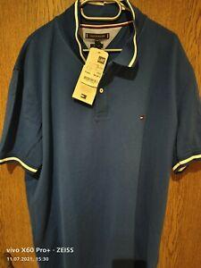 Tommy Hilfiger Poloshirt XXXL Blau Neu NP 69,90