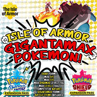 Pokemon Sword and Shield ⚔️ ALL '7' SHINY DLC GIGANTAMAX POKEMON✨ | 6IV 🛡️
