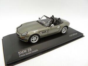 BMW Z8 Crema Dunkel Metallic 1/43 MINICHAMPS IN Box Miniature