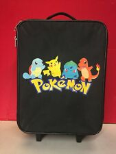 "Pokemon Suitcase Handle Wheels 12""x18"""
